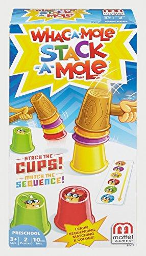 Mattel Games BFV27 Mattel BFV27-Autsch Stapelspaß Spiel