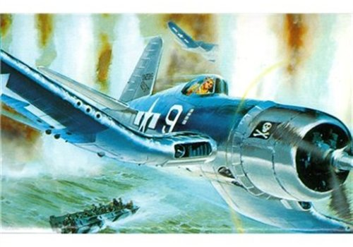Revell Modellbausatz Flugzeug 1:32 - Vought F4U-1A CORSAIR im Maßstab 1:32, Level 4, originalgetreue Nachbildung mit vielen Details, 04781