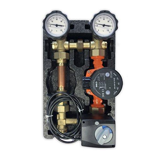 Oventrop Pumpengruppe m. Stellmotor Mischer Hocheffizienzpumpe 25-60 Regumat M3-180 Anbindesystem DN25