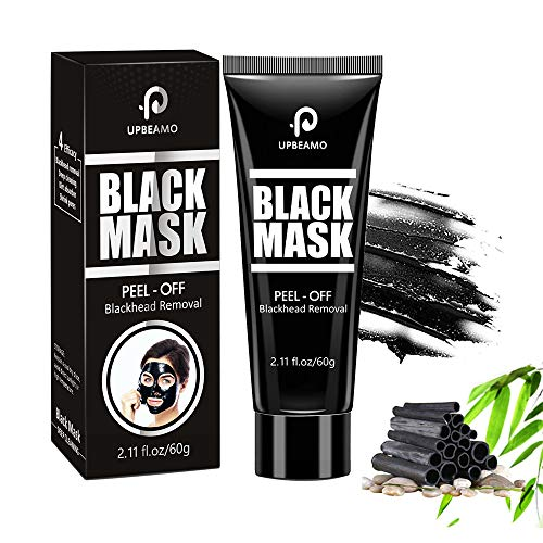 Blackhead Remover Mask, Peel Off Blackhead Black Mask, Bamboo Charcoal Face Mask, Deep Cleansing Facial Mask for All Skin Types