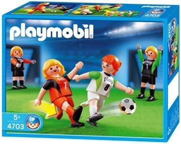 Playmobil Fußball 2 Damenteams 4703 NEU/OVP