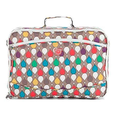 Pirulos 47330900 - Maleta, diseño drops, 44 x 32 x 17 cm, color lino
