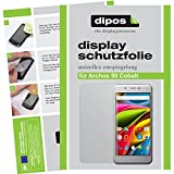 dipos I 2X Schutzfolie matt kompatibel mit Archos 50 Cobalt Folie Bildschirmschutzfolie