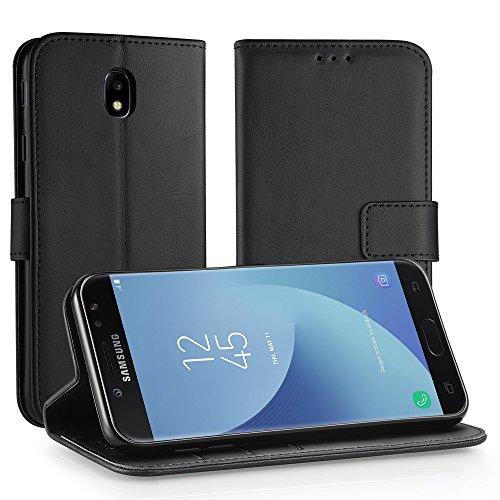 Simpeak Coque Compatible pour Samsung Galaxy J7 2017, Etui de Protection Compatible pour Samsung Galaxy J7 2017 Coque- Noir