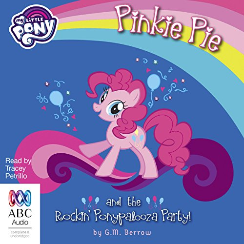 Pinkie Pie and the Rockin' Ponypalooza Party! cover art