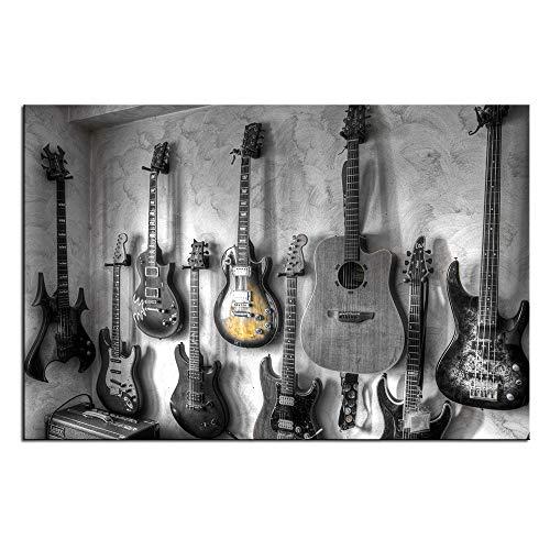 Painting-YC Malen nach Zahlen Kits für Erwachsene Anfänger Kinder - Gitarre 16×20
