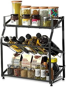 Eletecpro Stainless Steel 3-Tier Kitchen Organizer