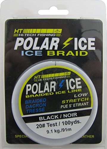HT IL-1020 Polar No. 20 Ice Braided Line, 100-Yard