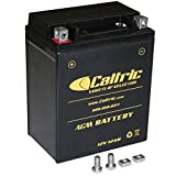 Caltric Agm Battery Compatible With Yamaha Big Bear 350 Yfm350 Yfm-350 4Wd 1987-1997 1999