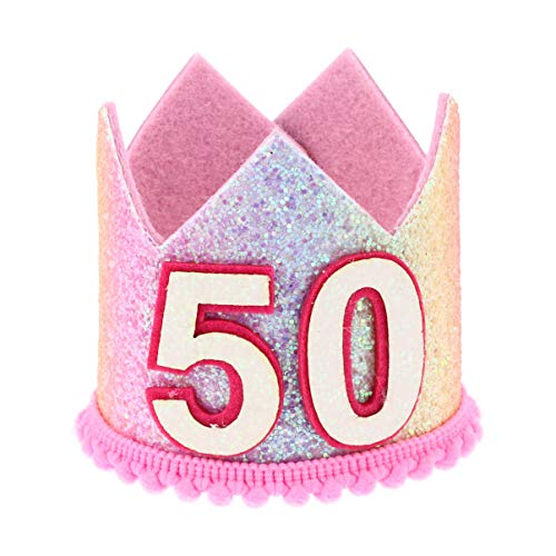 50th Birthday Crown for the birthday queen.