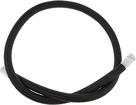 Homyl Nylon Cover Braided AN12 12-an Black Oil//Fuel//Gas Line Hose