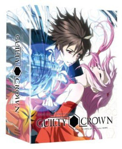 Guilty Crown: Complete Series Part 1 (Limited Edition Blu-ray/DVD Combo)
