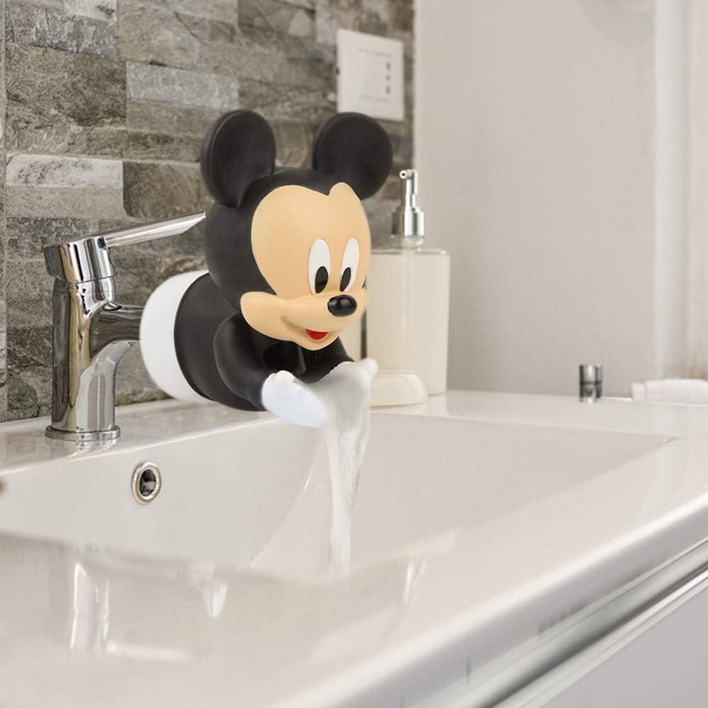 S&P Market Faucet Extender Water Saving Extension Tool Help Children Washing Hands (Mickey Black)