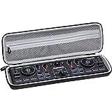 Aproca Duro Viajes Funda Bolso Caso para Numark DJ2GO2 Controlador de DJ Ultraportátil de 2 Canales/AKAI Professional LPD8 Controlador