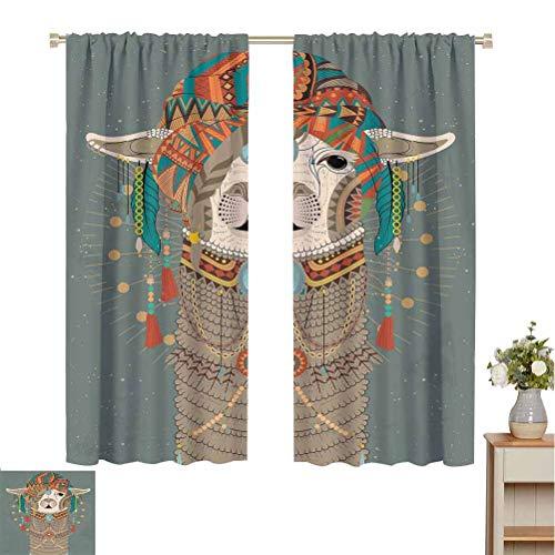 Toopeek Llama resistente all'usura colore tenda copricapo colorato indossare lama con accessori...