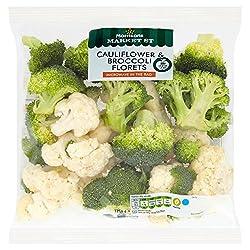 Morrisons Market St Cauliflower & Broccoli Florets, 375g