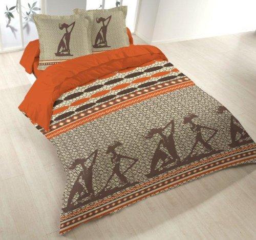 Van Der Haegen & Neckebroeck Housse de Couette 2 Personne, Polyester Coton, Multicolore, 43x24x6 cm
