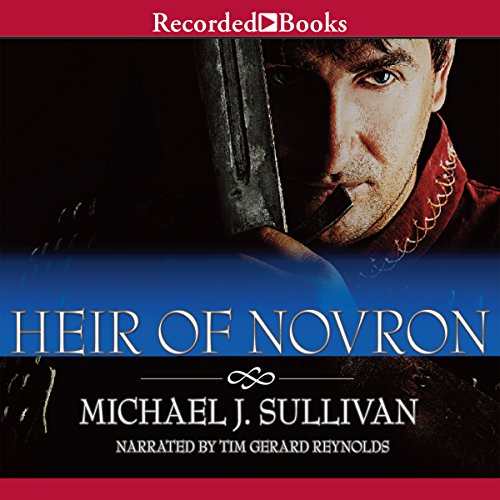 Heir of Novron audiobook cover art