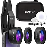 Best Apple Iphone Lens Kits - Phone Camera Lens Attachments | ZWARTpro Super Wide Review