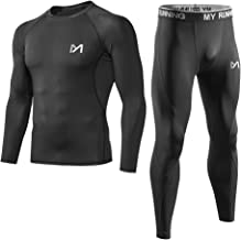 Men's Base Layer Underwear Set, Cool Gear Quick Dry Long Sleeve Compression Shirt..