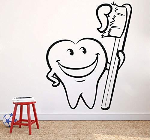 wopiaol Aufkleber Aufkleber Zahnreinigung VinylKüchen Esszimmer Abnehmbare Wandaufkleber Wandbilder