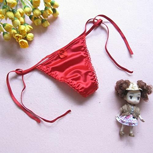 sakkdaull 3pcs Ladies Underwear Seamless Cotton Panties G String Lovely Sexy Underwear Women #;s Panties Red