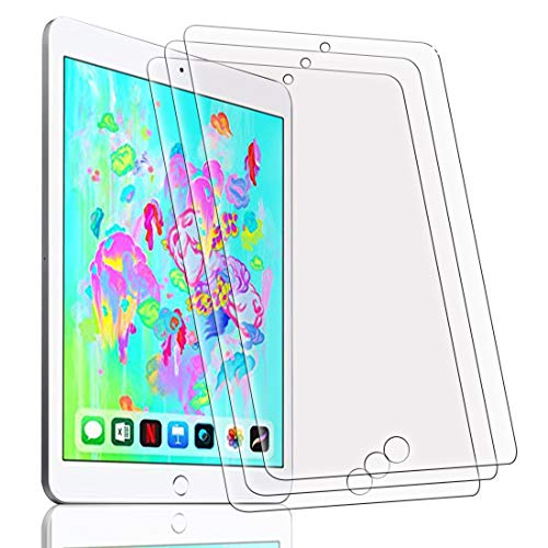 TVVT [3 Pack] Protector Pantalla para iPad Pro 9.7 / iPad Air...