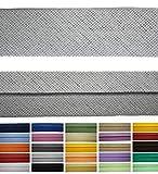 Roban Fashion Baumwoll Schrägband 50mm breit Textilband Blende in 24