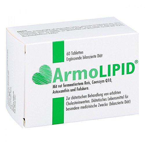 Armolipid - Pastillas quemagrasa, 60 unidades