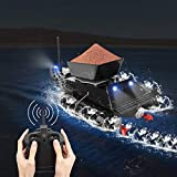APROTII Fishing Bait Boat Carp Fish Finder Bait Boat RC Boilies Runtime 8Hours