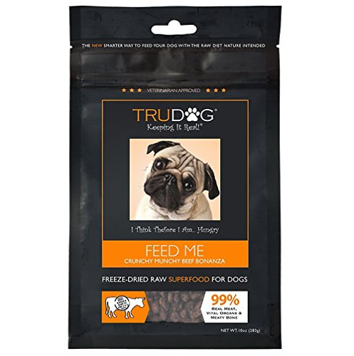 Real Meat Organic Dog Food - Feed Me: Freeze Dried Raw Superfood for...