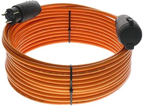 netbote24® Schutzkontakt Pur-Verlängerungskabel H07BQ-F 3x1,5 bis 3x2,5 mm² IP44 Außenbereich Baustelle 230V 16A (3G1,5; 25m)