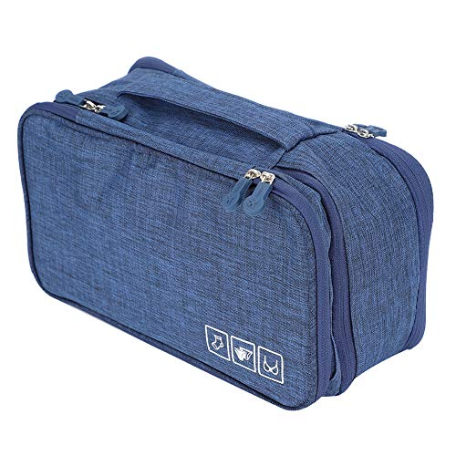 WYANG reiswasgoed-organisator, draagbaar, praktische beha ondergoed, opbergtas, geschikt voor grote beha's, sokken, onderbroeken, cosmetica, toiletartikelen