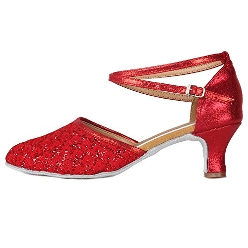 Top 10 best selling list for womens red glitter character shoes