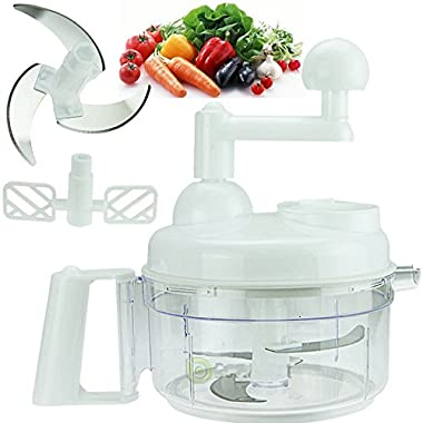 Spiral Vegetable Fruit Slicer Spiralizer Chopper Mandolin Cutter Shred Peeler