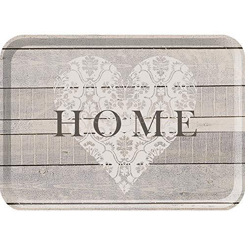 Creative Tops 5166071 Everyday Home - Petit Plateau de Service en Mélamine, Gris, 29 x 22 cm