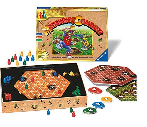 Ravensburger 26423 - Die Maulwurf Company - Familienspiel für Erwachsene und Kinder ab 8 Jahren, Ideal für Spieleabende mit Freunden oder der Familie für 1-4 Spieler