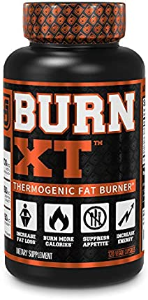 Quemador de grasa termogénico Burn-XT – Suplemento de pérdida de peso, supresor de apetito, potenciador de energía, acetil L-carnitina de alta calidad, extracto de té verde, más – 120 píldoras naturales de dieta vegetal.