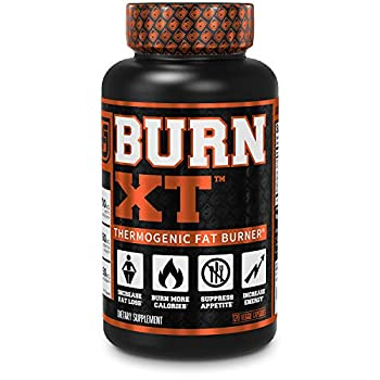 Burn-XT Thermogenic Fat Burner - Weight Loss Supplement Appetite Suppressant Energy Booster - Premium Fat Burning Acetyl L-Carnitine Green Tea Extract More - 120 Natural Veggie Diet Pills.