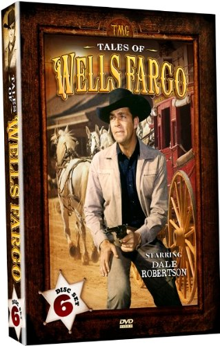 Tales of Wells Fargo - Starring Dale Robertson - 6 DVD-Set [RC 1]