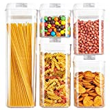 Airtight Food Storage Containers, Cereal Container Hi-QTool BPA Free Canister Sets for Cereal...