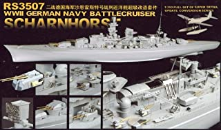 Detail Up Parts Set for WWII German Scharnhorst 1/350 (Plastic model) by Pit road