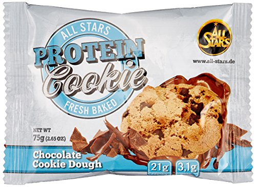 All Stars Protein Cookie, Chocolate Cookie Dough, 12er Pack (12 x 75 g)