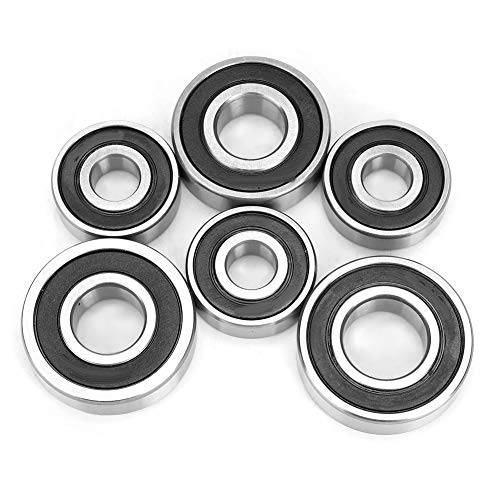 Gearbox Bearing,Transmission Gearbox Bearing Set for GY6 50/80cc Scooter Repair Accessory