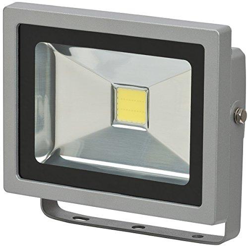 Brennenstuhl Chip-LED-Leuchte / LED Strahler außen (robuster Außenstrahler 20 Watt, Baustrahler IP65 geprüft, LED Fluter Tageslicht)