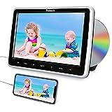 """NAVISKAUTO Reproductor de DVD para Coche con 10.1"""" Pantalla de Reposacabezas, Soporte HDMI, Video 1080P, AV-IN/AV-out, USB/SD, Región Libre, con el Diseño de Slot-in"""