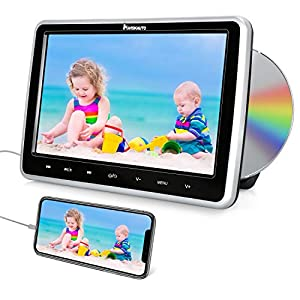Car DVD Player with HDMI Input Headrest Mount Support AV in&Out Region Free Last Memory