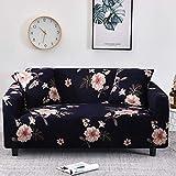 WXQY Fundas Estampadas Florales Funda de sofá elástica elástica Funda de sofá de protección para Mascotas Funda de sofá con Esquina en Forma de L Funda de sofá con Todo Incluido A32 2 plazas