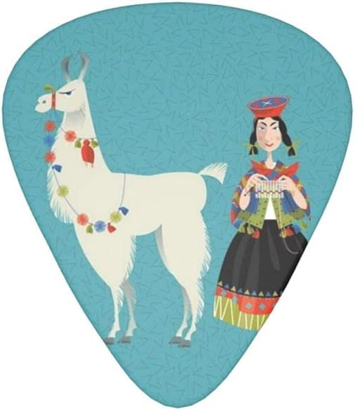 Alpaca Peruvian Woman Max 44% OFF Guitar Picks 12 Electric Bass National uniform free shipping A For Pack