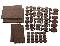 Floor-Effects-Felt-Pads, Heavy-Duty-Adhesive-Furniture-Pads